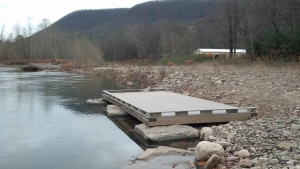 Trout Run Fishing Platform